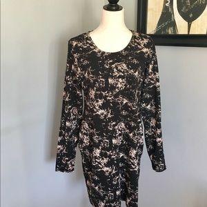 NWOT H&M Milky Way long-sleeve dress